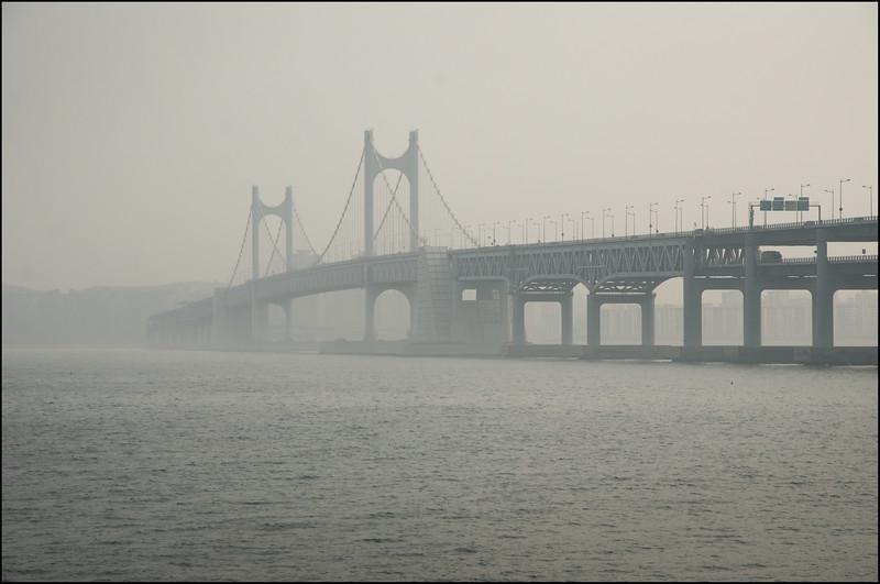 Gwangan Bridge - Park Hyatt Busan, South Korea