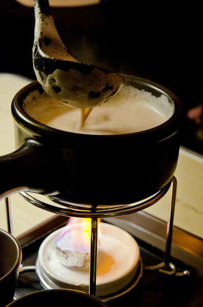Exquisite hot chocolate at Hotel November