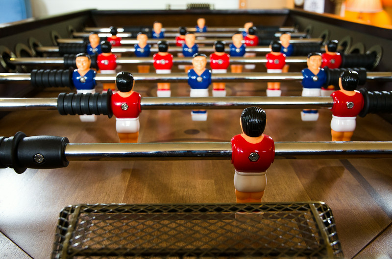 Best foosball table I've ever seen!