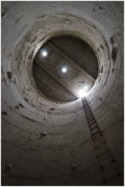 Inside the Silo - Maria Island, Tasmania