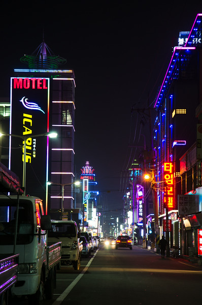 Gyeongju's love hotel district
