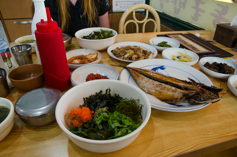 One of the best lunches we had in South Korea