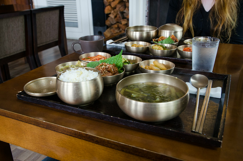 'Korean' breakfast at Hotel November