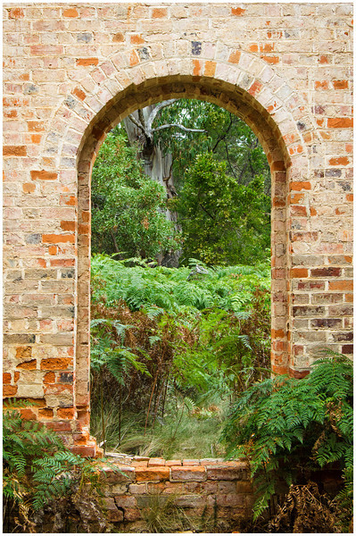 Engineer's Archway - Maria Island, Tasmania