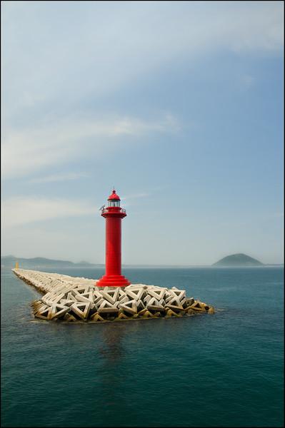 Leaving Seongsan Harbour to Udo Island