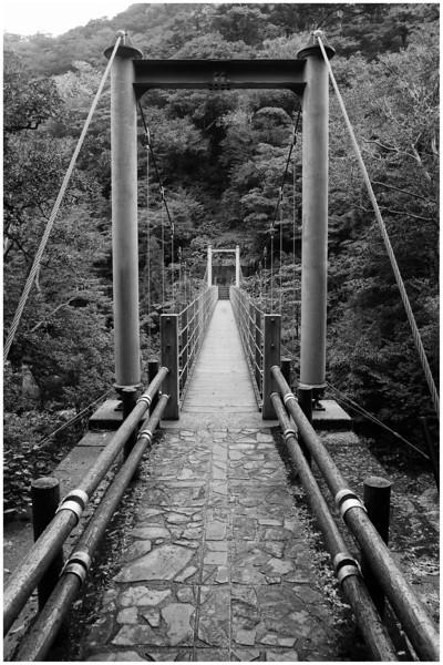 Satsuki-tsurihashi suspension bridge