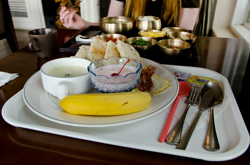 'Western' breakfast at Hotel November