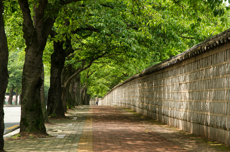 Everyday ancient walls