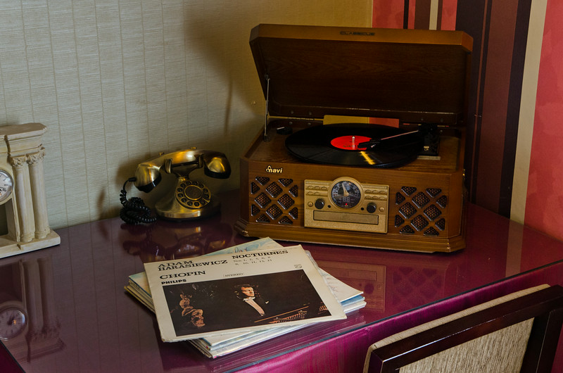 Our very own record player!